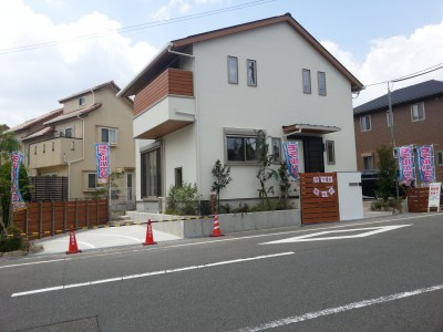 東香里モデルハウス外観